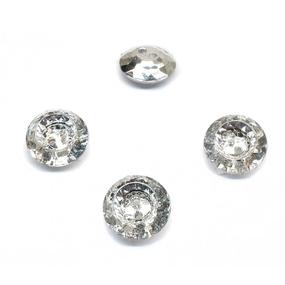 Пуговица ПР152 серебро уп 50 шт фото