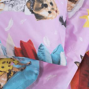 Детское постельное белье из поплина 1.5 сп 1641 фото