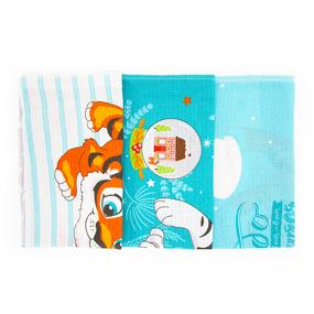 Набор вафельных полотенец 3 шт 50/60 см 3088-2 Тигрята фото