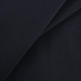 Бязь гладкокрашеная 120гр/м2 150 см цвет черный 316 фото
