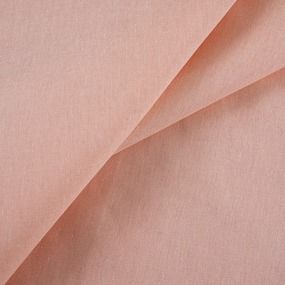Бязь гладкокрашеная 120гр/м2 150 см цвет персик фото