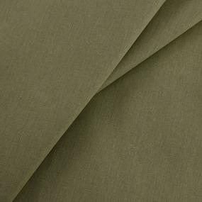 Бязь гладкокрашеная ГОСТ 150 см цвет хаки фото