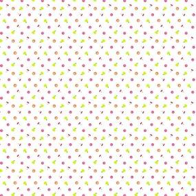Ткань на отрез ситец 95 см 21088/1 Фруктики фото