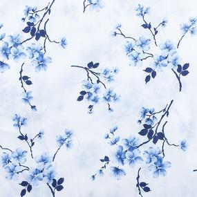 Ткань на отрез бязь о/м 120 гр/м2 150 см 157/1 цвет голубой фото