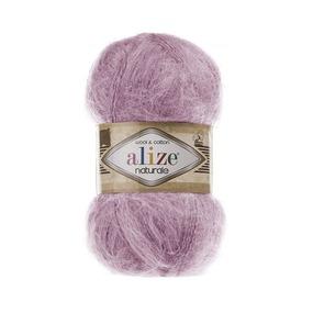 Пряжа ALIZE NATURALE 392-розовый (60% шерсть 40% хлопок) фото