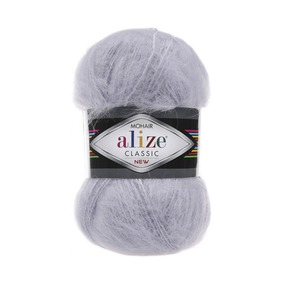 Пряжа ALIZE MOHAIR CLASSIK 52-талая вода (24% шерсть 25% акрил 51% акрил) фото