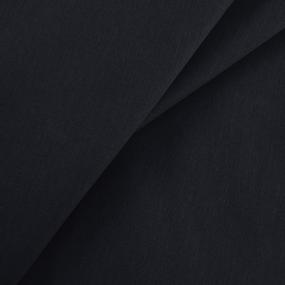 Бязь гладкокрашеная 100гр/м2 150см цвет черный 315 фото