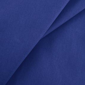 Бязь гладкокрашеная 120гр/м2 150 см цвет синий 270 фото