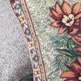 Наволочка гобелен декоративная 45/45 см Оранжевое лето фото