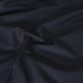 Комплект простыня 1.5 сп + 1 нав. 70/70 поплин цвет Черный фото