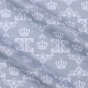 Бязь плательная 150 см 8109/39 Корона цвет серый фото