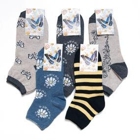 Женские носки Бабочка С87 размер 23-25 фото