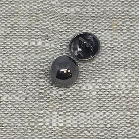 Пуговица ПР162 20мм черный никель уп 12 шт фото