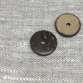Пуговица ПР164 20мм кокос уп 12 шт фото