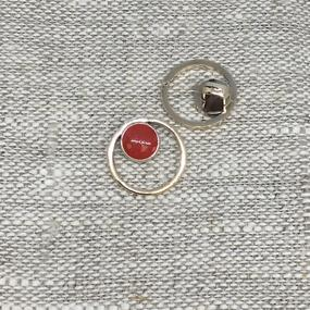 Пуговица ПР176 15 мм красная уп 12 шт фото