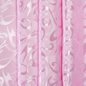 Мерный лоскут портьерная ткань 150 см 14 цвет розовый 1,9 м фото