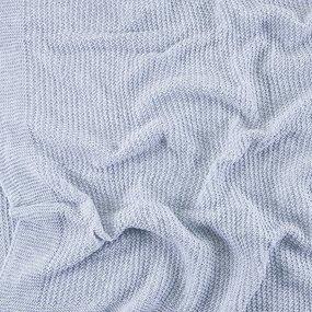 Покрывало-плед Петелька 150/200 цвет серый фото