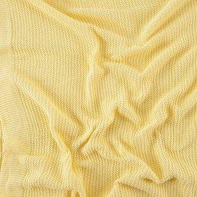 Покрывало-плед Петелька 150/200 цвет желтый фото