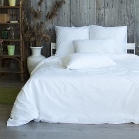 Постельное белье из поплина Подснежник 2-х сп с евро простыней фото