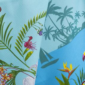 Полотенце вафельное пляжное 10734-1 Багамы 150/75 см фото