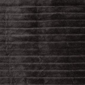 Ткань на отрез велсофт Orrizonte 300 гр/м2 200 см цвет баклажан фото