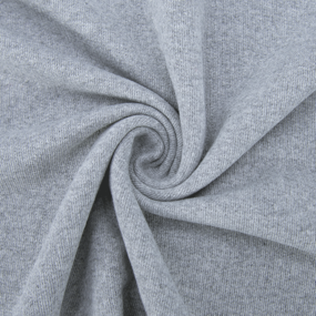 Мерный лоскут футер петля 20-07 цвет с.серый 5,5 м фото