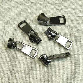 Бегунок металл №5 авт. черный никель БФ 5100 фото