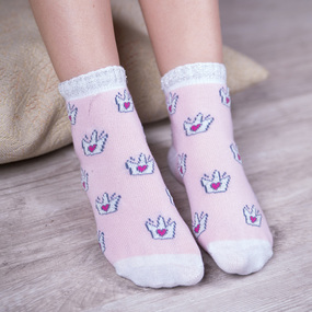 Носки Леди детские р 10-12 фото