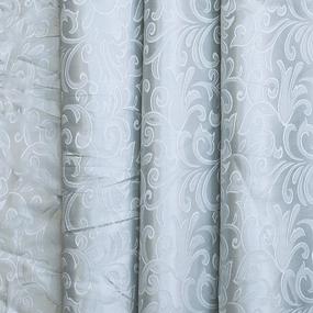 Портьерная ткань 150 см на отрез 100/2С цвет 16 серый фото