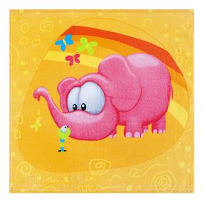 Полотенце махровое Sunvim 17B-14 Розовый слон 50/50 см фото