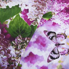 Бязь о/м ГОСТ 150 см 320/2 Сирень цвет розовый фото