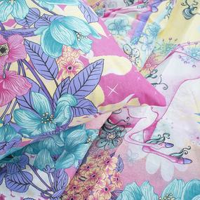 Детское постельное белье из поплина 1.5 сп 2043 фото