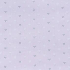 Маломеры поплин 150 см 1971/2 Сердечки цвет розовый 11 м фото