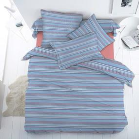 Ткань на отрез бязь Премиум 150 см 13008/2 Полосочка фото