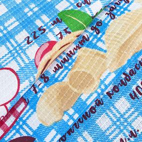 Ткань на отрез вафельное полотно 50 см 200 гр/м2 1889/1 фото