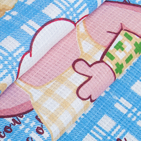 Ткань на отрез вафельное полотно 50 см 200 гр/м2 1889/3 фото