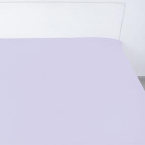 Простыня сатин 14-3805 цвет сирень 1.5 сп фото