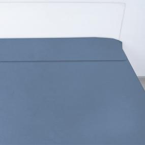 Пододеяльник сатин 18-4020 цвет морская волна 2 сп фото