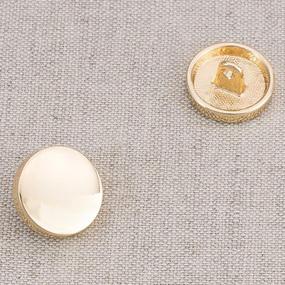 Пуговица металл ПМ58 11мм золото глянец уп 12 шт фото