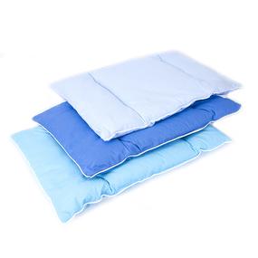 Подушка для новорожденных 40/60 цвет голубой фото
