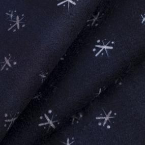 Ткань на отрез микрофлис Снежинки 16167 фото