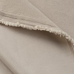 Портьерная ткань софт однотонный 280 см на отрез 502-41 темно-бежевый фото