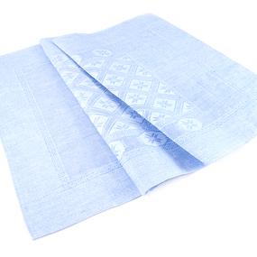 Весовой лоскут Салфетка лен 1 Вид 65 / 108 см по 1 кг фото