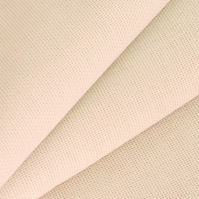 Ткань на отрез рогожка 150 см 10910 цвет розовато-бежевый 1 фото