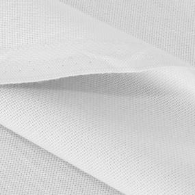 Ткань на отрез рогожка 150 см 17600 цвет серебристый фото