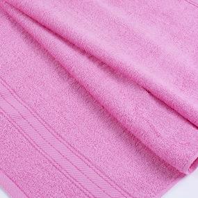 Полотенце махровое Sunvim 12В-4 50/90 см цвет розовый фото
