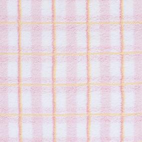 Полотенце махровое Sunvim 18В-7 Светлая клетка 34/68 см цвет розовый фото