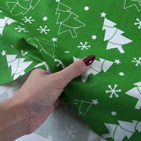 Ткань на отрез поплин 150 см 427/9 цвет зеленый фото