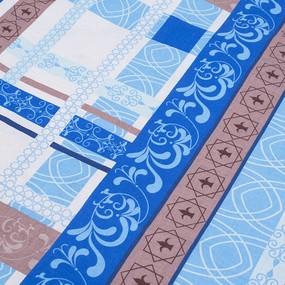 Комплект простыня 1.5 сп + 1 нав. 70/70 бязь 301/2 Аккорд цвет синий фото