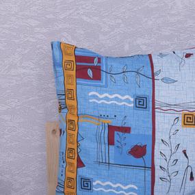 Наволочка Бязь 133/3 Стамбул цвет голубой в упаковке 2 шт 50/70 см фото